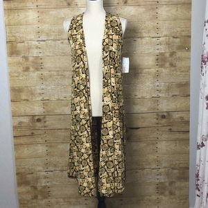 LLR JOY NWT SIZE SMALL(6-8) BLACK AND YELLOW